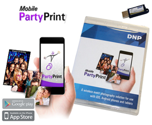 Mobile Party Print Software by DNP