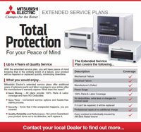 Mitsubishi Printers 4 Year Extended Warranty