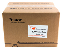 Ciaat-Brava 4x6 Print Kit for use with Brava 21 Printer