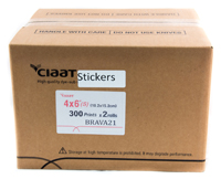 Ciaat-Brava 4x6 Sticker Print Kit for use with Brava 21 Printer