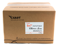 Ciaat-Brava 5x7 Print Kit for use with Brava 21 Printer