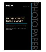 Epson Metallic Photo Glossy 8.5 x 11, 25 Sheets