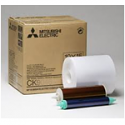 Mitsubishi 4x6 Media for use with Mitsubishi CP-9000DW, CP-9500DW and CP-9550DW Printers