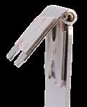 ChromaLuxe Medium Aluminum Hinged Silver Easel 20 Pieces