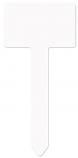 "Unisub 3.5"" x 6.9"" Aluminum Rectangle Garden Stake"