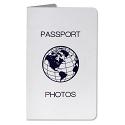 Passport Print Folder - White (100 pkg)