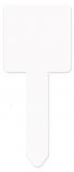 """Unisub 2.75"""" x 6.9"""" Aluminum Square Garden Stake"""