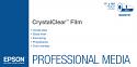 """Epson CrystalClear Film 17"""" x 100' Roll (S045151)"""