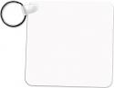 "Unisub 2.25"" x 2.25"" Aluminum Key Chain Square 1 Sided"