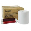 Mitsubishi 5x7 Print Kit for use with CP-D70DW, CP-D707DW and CP-D90DW Printers