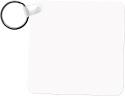 "Unisub 2.25"" x 2.25"" FRP Key Chain Square 2 Sided"