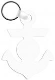 "Unisub 2.4"" x 3.15"" Aluminum Key Chain Anchor 2 Sided"