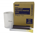 DNP 4x6 Single Packaged Roll ID Media for use with IDW500 Passport ID Photo Solution