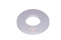 """5x7 Spacers to use 5"""" Paper with 6"""" Spools for Sinfonia CS2 Printers (Left Side, Grey)"""