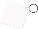 "Unisub 2.25"" x 2.25"" Aluminum Key Chain Square 2 Sided"