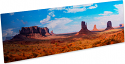 """ChromaLuxe 5"""" x 17"""" Gloss Clear HD Aluminum Photo Panel Case of 10"""