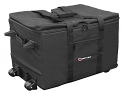 Redline Series Utility Shuttle Bag with Pullout Handle and Wheels, 21x16x12 Interior