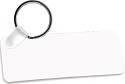 "Unisub 3"" x 1.25"" FRP Key Chain Rectangle 2 Sided"