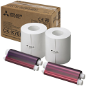 """Mitsubishi 6"""" Print Kit for use with CP-K60DW"""