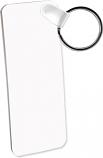 "Unisub 1.25"" x 3"" Aluminum Key Chain Rectangle 2 Sided"