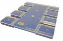 Livingston 8 Up 4x4 Koozie/Tag/Pocket/Short Sleeve TucLoc Platen for Epson DTG F2000/F2100