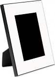 """Unisub 8"""" x 10"""" MDF Picture Frame Holds 5"""" x 7"""" Photo"""