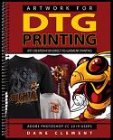 Artwork for DTG Printing Book by Dane Clement - Hardcopy