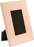 """Unisub 8"""" x 10"""" Maple Natural Wood Picture Frame Holds 4"""" x 6"""" Photo"""