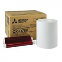 Mitsubishi 6x8 Print Kit for use with CP-D70DW, CP-D707DW and CP-D90DW Printers