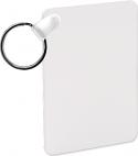 "Unisub 1.6"" x 2.25"" Aluminum key Chain Rectangle 2 Sided"