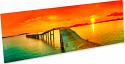"ChromaLuxe 5"" x 17"" Gloss White HD Aluminum Photo Panel Case of 10"