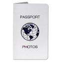 Passport Print Folder - White (500 Count)
