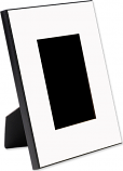 """Unisub 8"""" x 10"""" MDF 2.24 inch Wide Picture Frame Holds 4"""" x 6"""" Photo"""