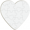 "Unisub 5"" x 5"" Hardboard Jigsaw Puzzle 16 Piece"