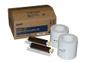 """DNP 4"""" x 6"""" Center Perforated Print Kit for use with QW410 Printer"""