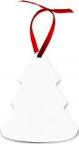 "Unisub 3.38"" x 3.95"" Aluminum Tree Ornament 2 Sided"