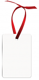 "Unisub 2"" x 3"" Aluminum Vertical Rectangle Ornament 2 Sided"